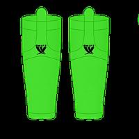 Гамаши однотонные зеленые