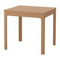 "IKEA ""ЭКЕДАЛЕН"" Раздвижной стол, дуб, 80/120x70 см"