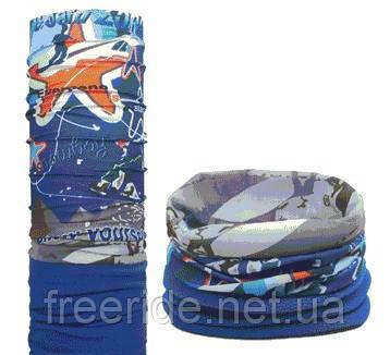 Зимний бафф с флисом, теплый шарф (#691)