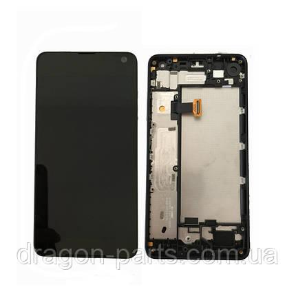 Дисплей Microsoft Lumia 650 Dual Sim с сенсором (модуль) черный оригинал , 00814H5, фото 2