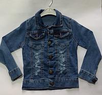 Джинсовая куртка для мальчика от 8 до 12 лет , фото 1