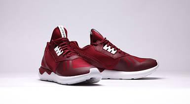Кроссовки мужские Adidas TUBULAR Runner бордо