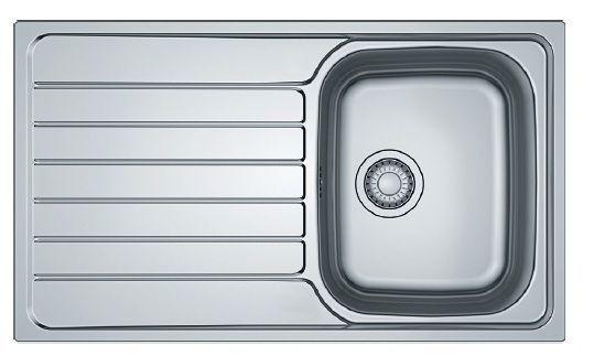 Мойка кухонная Franke SKX 611-86 полированная