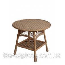 "Плетёный круглый стол""Блюз"""