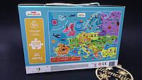 Пазлы Додо Карта Европы: 100 деталей, фото 1