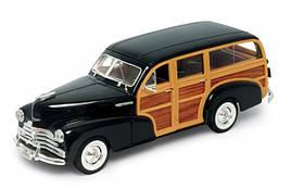Машина Welly, Chevrolet Fleetmaster 1948, метал., масштаб 1:24, в кор. 23*11*10см (6шт)