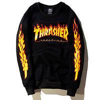Свитшот Thrasher Black/Yellow
