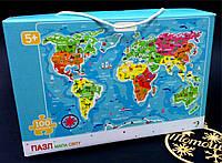 Картонные пазлы Карта мира / Мапа світу  (100 дет.), Додо / Dodo