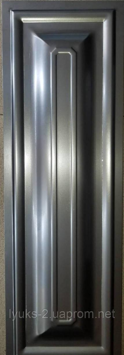 Филенка металлическая для ворот 250*750