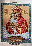 Икона Почаевской Матери Божьей, размер иконы 35х27 см, 950