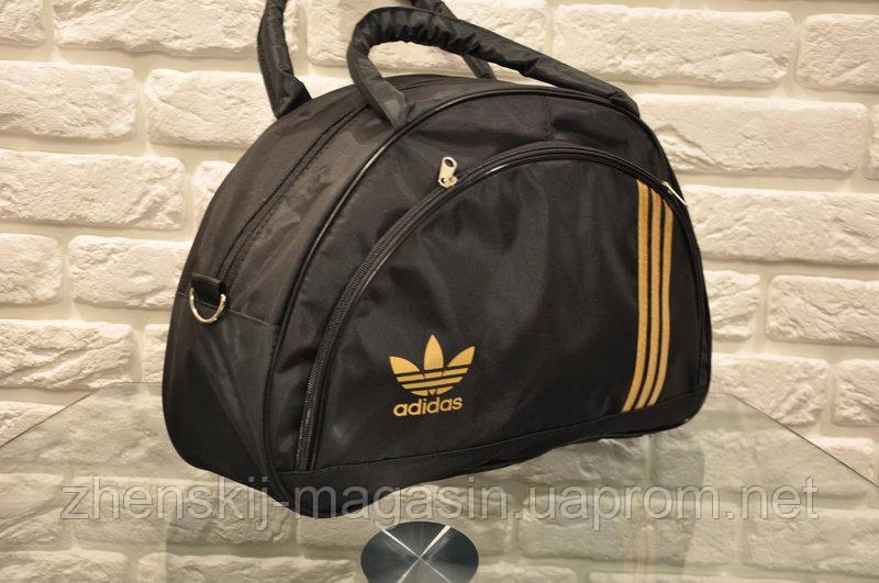 4525fa4dda4a Спортивная сумка Adidas модель MB. (черный+золотой). - Интернет Магазин