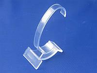 Акриловая (пластиковая) белая прозрачная подставка 10,5см для демонстрации часов