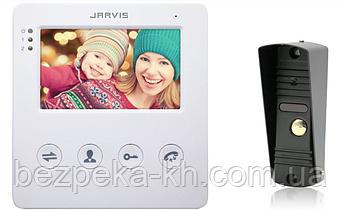Комплект видеодомофона   Jarvis JS-4W Kit