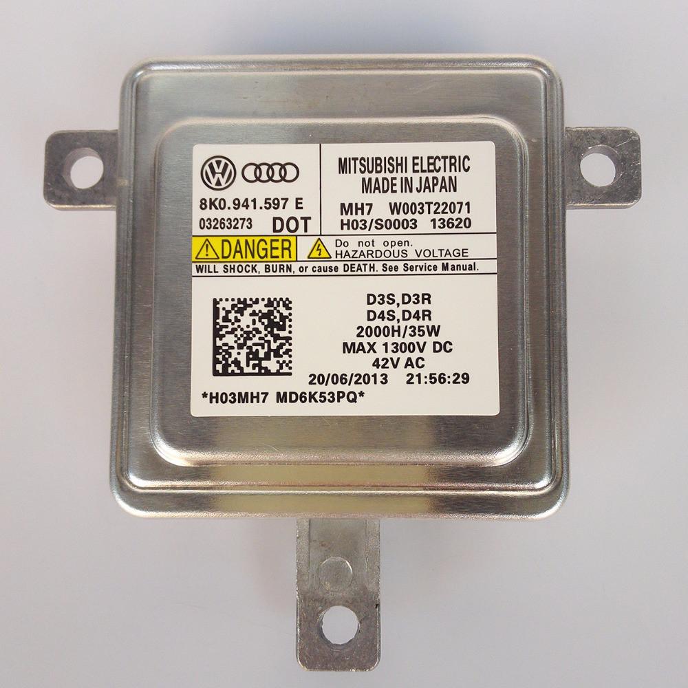 Блок управления ксеноновыми лампами AUDI 8K0941597 8K0941597C
