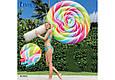 """Надувной пляжный матрас-плот """"Леденец"""" Intex 58753 (208х135см) LOLLIPOP FLOAT, фото 2"""