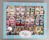 Пинетки-туфельки для новорожденных, фото 1