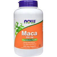 Now Foods, Мака, 500 мг, 250 вегетарианских капсул