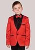 Красный костюм + рубашка 6-7 лет