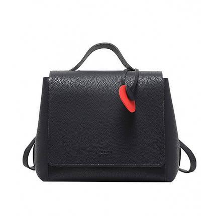 Рюкзак женский Micocah черный eps-8125, фото 2
