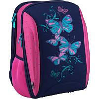 Школьный каркасный рюкзак kite butterfly k18-732m-2 для младших классов
