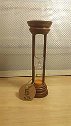 Часы песочные в деревянном корпусе 4-19  5 мин