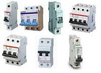 Автоматические выключатели(автоматы,УЗО,реле напряжения,защиты)