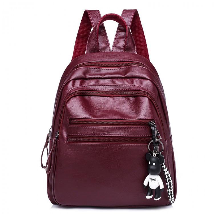 Рюкзак женский Nancy бордовый eps-8102