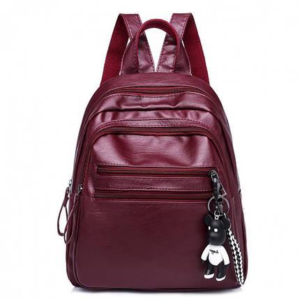 Рюкзак женский Nancy бордовый eps-8102, фото 2