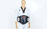 Пояс тренера для бокса TWINS BEPL-2-BK (наполнитель-пенополиурет., р-р M-XL, черный)