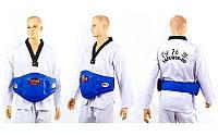 Защита для тренера бокс TWINS BEPL-3-BU (р-р M-XL, крепление на ремне, синий)