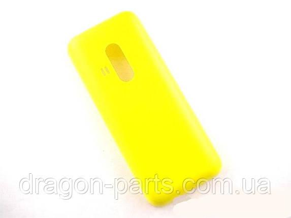 Задняя крышка  Nokia  220 желтая оригинал , 9448657, фото 2