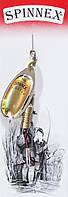 Вращающаяся блесна Spinnex col.023