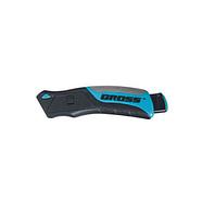 Нож ремонтно-монтажный GROSS 175мм трехкомпонентная рукоятка + 5 зап.лезвий  78879
