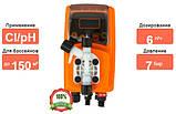 Дозирующий насос Emec Cl/pH 6 л/ч c авто–регулировкой (VMSPO0706FP), фото 4