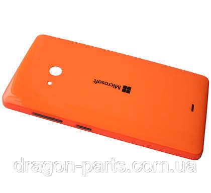 Задня кришка Microsoft Lumia 540 помаранчева оригінал , 8003566, фото 2