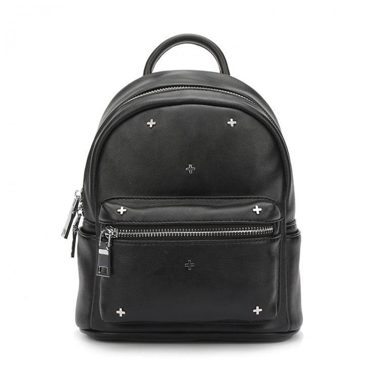 Женский мини рюкзак Suivea черный