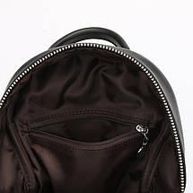 Женский мини рюкзак Suivea черный, фото 3