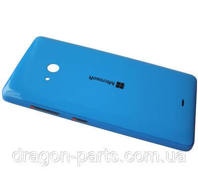 Задняя крышка  Microsoft Lumia 540 синяя оригинал , 8003568, фото 2