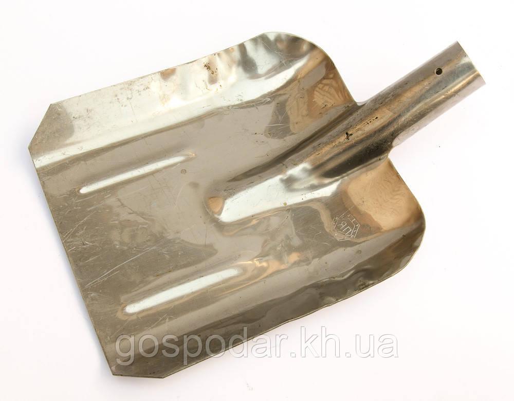 Лопата совковая — нержавейка 2 мм.