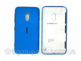 Задняя крышка  Nokia Lumia 620 синяя оригинал , 02500F6