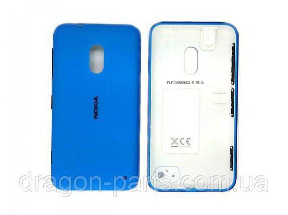 Задня кришка Nokia Lumia 620 синя оригінал , 02500F6, фото 2