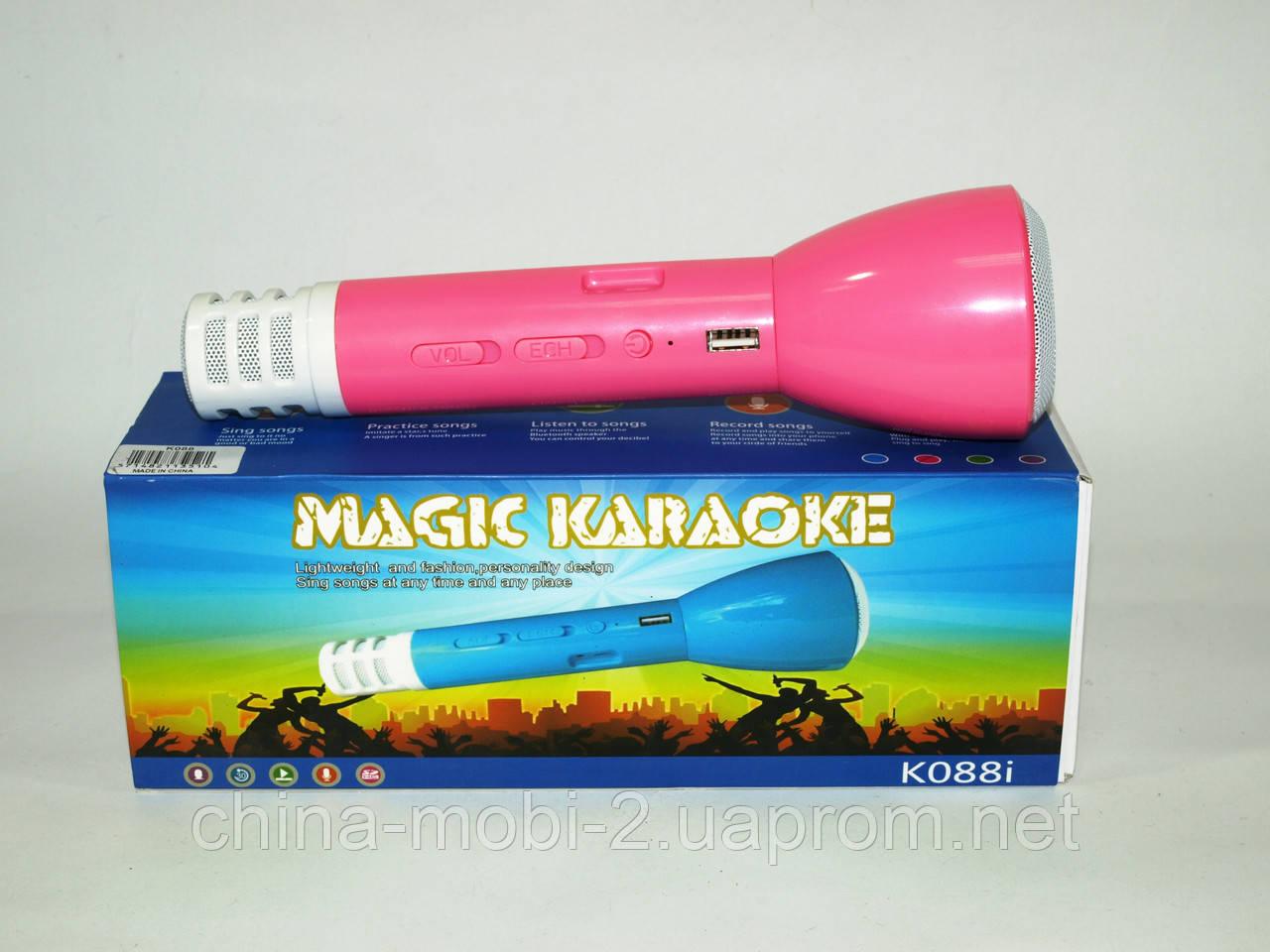 Микрофон с Караоке Magic Karaoke K088i, Pink