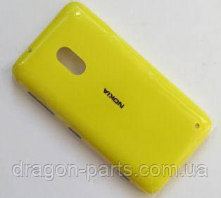 Задняя крышка  Nokia Lumia 620 желтая оригинал , 02500T0, фото 2