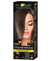 Крем-краска для волос био 100мл тон 3 La Fabelo Professional