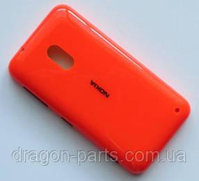 Задняя крышка  Nokia Lumia 620 оранжевая оригинал , 02501D6