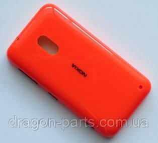 Задняя крышка  Nokia Lumia 620 оранжевая оригинал , 02501D6, фото 2