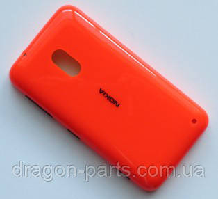 Задня кришка Nokia Lumia 620 помаранчева оригінал , 02501D6