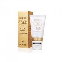 Крем для шеи и декольте с золотом Petitfee Gold Neck Cream, 50г