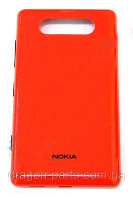 Задняя крышка  Nokia Lumia 820 красная оригинал , 0259966