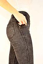 Джинси жіночі стрейч Золото - L & XL Ростовка: L - синій + XL,2XL - чорний, фото 3